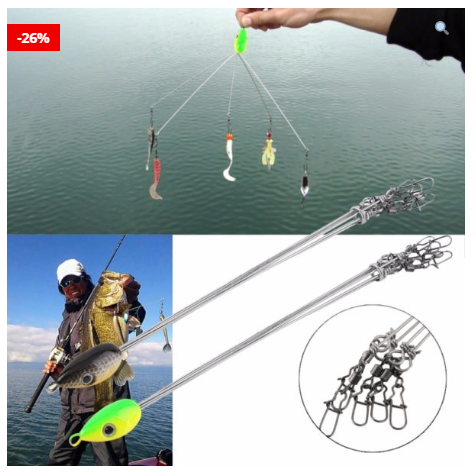 Multifunctional Outdoor Fishing Hooks